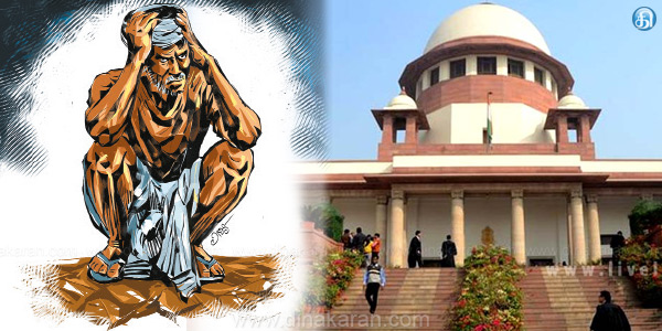There is no reason for farmers suicides in Tamil Nadu:Tamilnadu state information in Supreme Court