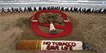 The smoke and hatred of smoking only - May 31 World tobacco eradication day