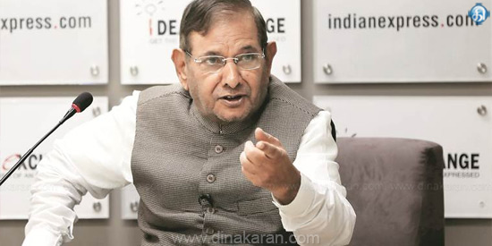 Sharad Yadav's sudden dismissal from UPA chairperson - Nitish Kumar's action