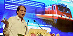 600 km Speed trains run: Suresh Prabhu