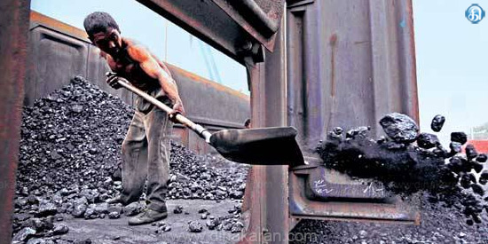 Coal imports fall in domestic production