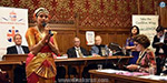 The Indian woman's record of dancing in the UK parliament