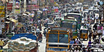 roads are full of traffic congestion in Erode