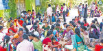 Because of the lack of basic facilities, Anganwadi teacher who came to interview interviews