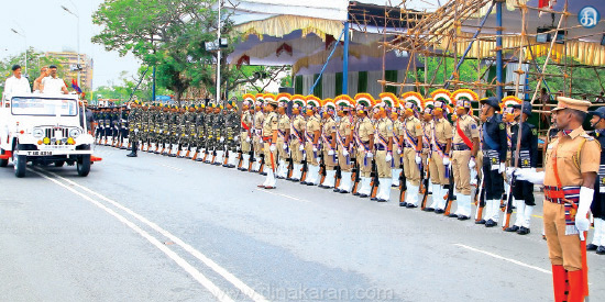 The chief secretary visited the parade Chief Minister Tomorrow is dead