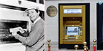 The world's first gold ATM machine are changed in the Golden Jubilee anniversary
