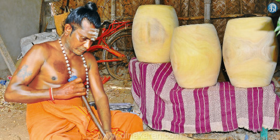 Majestic music from the house of the grasshopper in the museum: Thanjavu and Kumbakonam