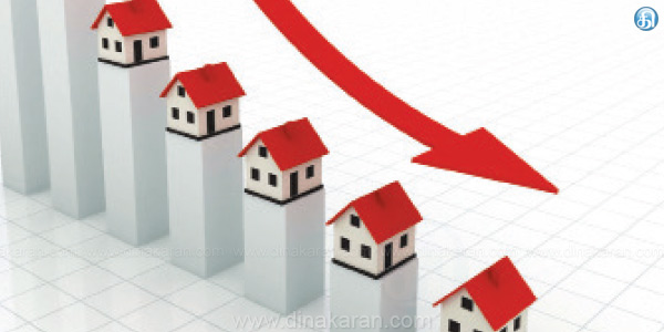 8 cities including Chennai January - March sales decline in the housing