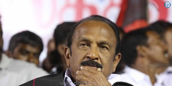 Government of Tamil Nadu BJP playing on rolling: Vaiko's allegation