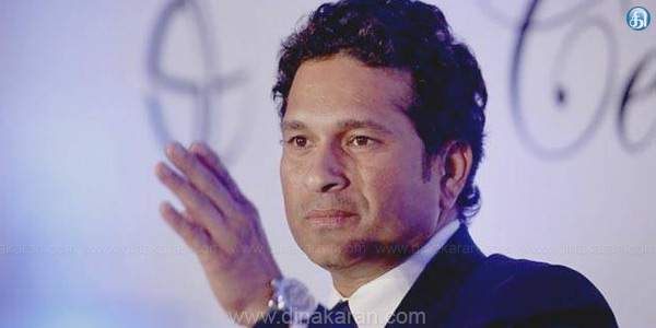 Sachin is the ambassador of the Ganga Cleanse Project