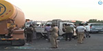 Road accident near Tambaram this morning: 3 Woman kills after van hits trucks