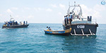 8 fishermen from across the border apprehension and custodial Nagai: Sri Lanka Navy atrocity