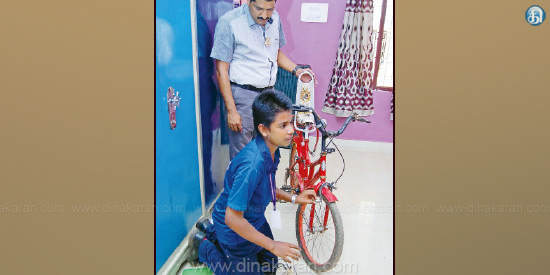 Drive Cycle ... Save Electricity !: Karaikudi Student's Gallery Discovery