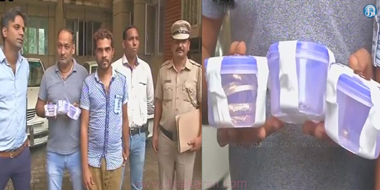 Robber arrested in Delhi: the seizure of 280 grams of gold jewelery