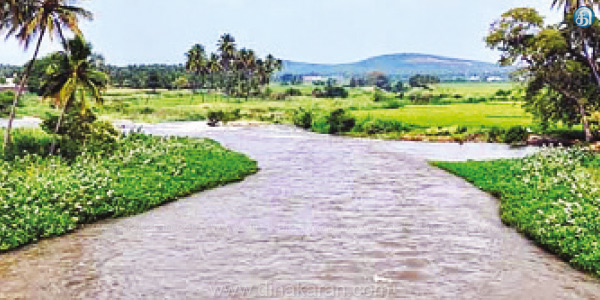 Are there any restrictions in the river to save waste water during the rainy season?