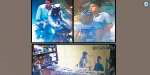 Chain flush in the areas of Manthavali and Teynampet Bike robbers CCTV recording release