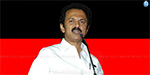 MK Stalin in Chennai today's vote collection by van