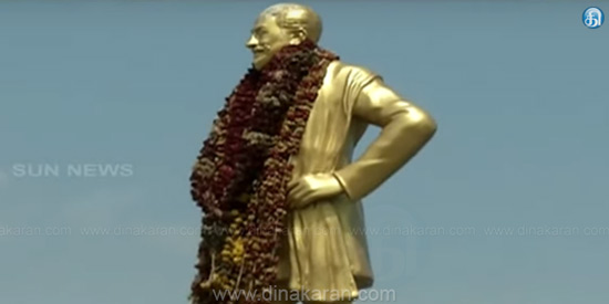 Actor Sivaji Ganesan's statue put in Manimandapam bigotry: High Court orders
