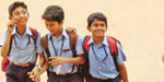 School open for students on the first day of the school: Educational Activity