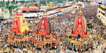 Puri Jagannathar Temple Rath Yatra started with millions of pilgrims