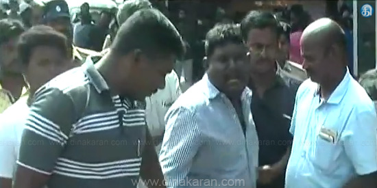 Fishermen were caught while driving Gold kidnap gang caught up in cuddalore: Funnel scenes like cinema