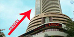 Sensex gained 195 points in early trade