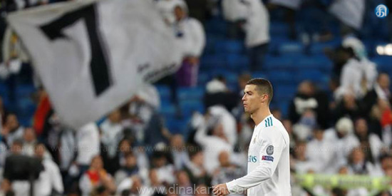 Ronaldo's new record for the Champions League football
