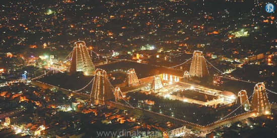 Karthikai Deepa festival in Thiruvannamalai: December 2th Mahadeepam