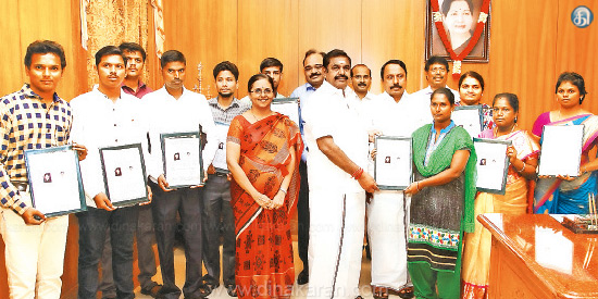 199 Bachelor Assistant, Chief Minister of Tamilnadu has issued 125 orders