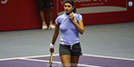 Aussie. Open tennis Shouting Sania