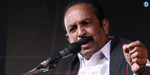Vaiko supports the DMK candidate today