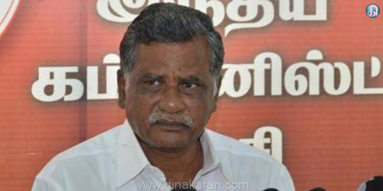 If the proper election in RK city DMK victory No one can stop: interview with Muthrasan in Salem