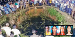 As the headmaster told her to bring her parents, 4 girls jumped to the well