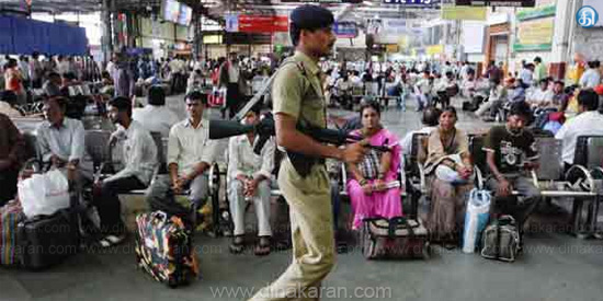 Additional Police Security at Railway Station: Railway Notice