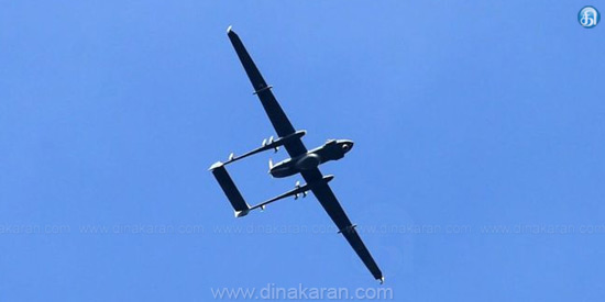 India's definition of Indian drone: control loss in Chinese region due to technical difficulties
