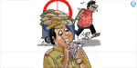 Police ration rice transports girl
