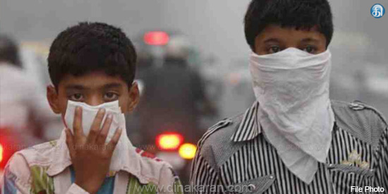 The risk of infection of children by air pollution: warning in the UN study