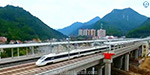 High speed train run in China's mountain range: successful completion