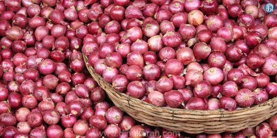 Onion prices are so high that the exports are still very much on import