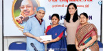 Sun Foundation for Rs. 35 lakh for poor and simple people's eye treatment