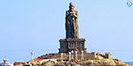 Chemical finish completed: Visit Valluvar statue today