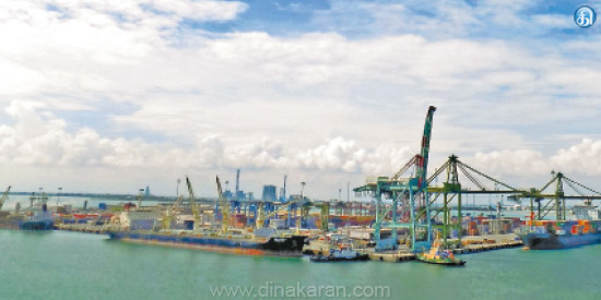 Tuticorin VCC in dealing with goods Harbor new record