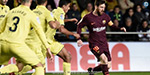 Barcelona defeated Villarreal