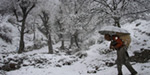 Jammu-Kashmir snowfall: Jammu-Srinagar national highway freezing