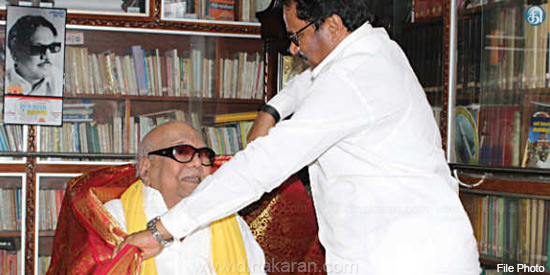 Thirunavukkarar meeting with Karunanidhi