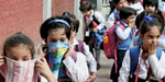 Polluted air puts a child's lungs at risk'