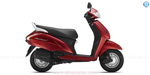 The top five scooter in the year 2017 was sold