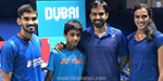 Dubai World Supercity Badminton pains PSV victory