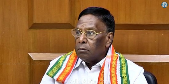 Governor's intervention in the elected government has spread to Tamil Nadu: Narayanasamy