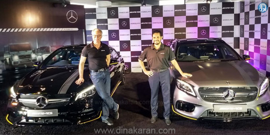 Mercedes-Benz launches 2 new AMG models in India